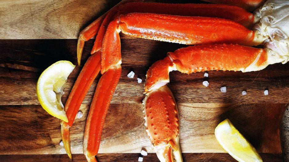 Crabe des neiges et sa mayo
