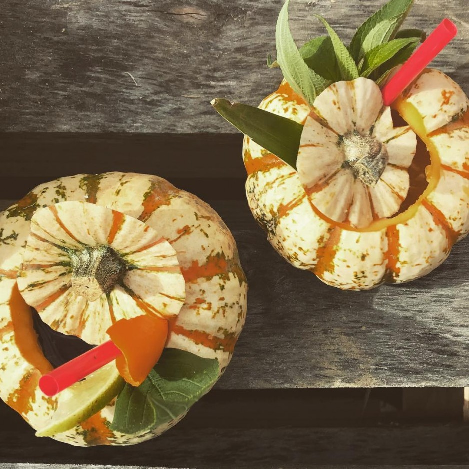 Cocktail d'automne : Rhum / Courge